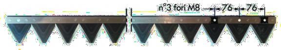 Ricambi Barra Falciante